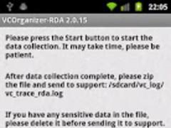 VCOrganizer-RDA 2.0.16 Screenshot