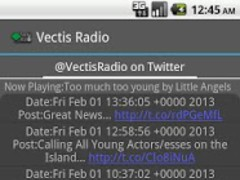 Vectis Radio Player 2 Screenshot