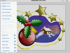 ! Vector Paint - vector editor for iPad with DropBox sync feature 1.6 Screenshot