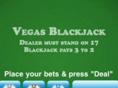 Vegas Blackjack Free 1.0 Screenshot