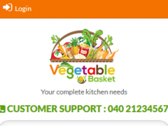 Vegetable Basket 1.0 Screenshot