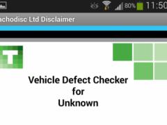 Vehicle Defect Checker T  Screenshot
