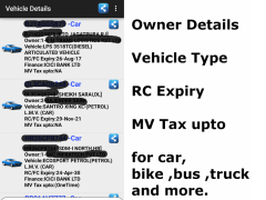 Vehicle Details: India 1.0 Screenshot