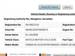 Vehicle Registration Info  IND 1 Free Download