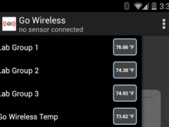 Vernier Go Wireless 1.0 Screenshot