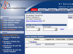 VI Service Desk 2.1 Screenshot