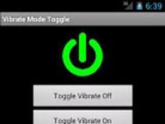 Vibrate Mode Toggle! 1.5 Screenshot
