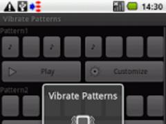 Vibrate Patterns 1.2.0 Screenshot