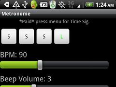 Vibrating Metronome *Donate* 1.0 Screenshot
