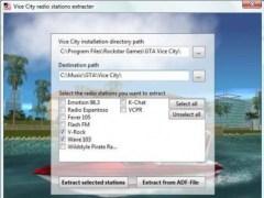 Vice City radio stations extracter  Screenshot