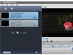 Video Watermark Pro 2.3 Screenshot