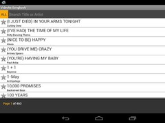 Videoke Songbook 1.0.5 Screenshot
