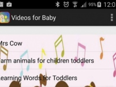 Videos for Baby 1.3 Screenshot