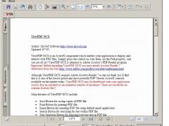 ViewPDF OCX 2.0 Screenshot