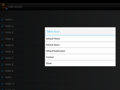 Violin Sounds Ringtones 2.0 Screenshot