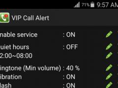 VIP Call Alert 1.1.2 Screenshot