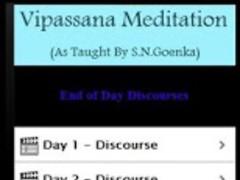 Vipassana Meditation-Goenka. 1.0 Screenshot