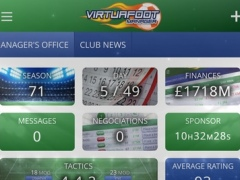Virtuafoot Football Manager 0.0.37 Screenshot