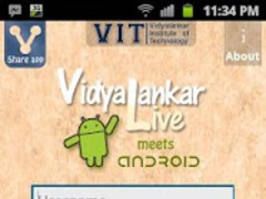 VIT-Live for Android 1.0 Screenshot