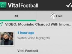 VitalFootball 3.6.1 Screenshot