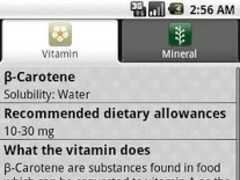 Vitamins Minerals 1.6 Screenshot