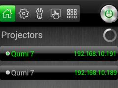 Vivitek Mobile Remote 1.2 Screenshot