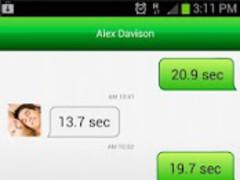 Vmail - text & voice messenger 1.6 Screenshot