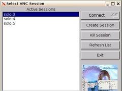 VncSelector 1.6.2 Screenshot