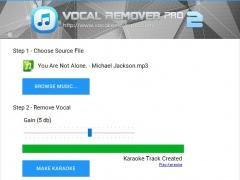 Vocal Remover Pro 2.0 Screenshot