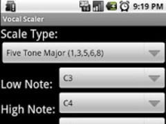 Vocal Scaler 1.0 Screenshot