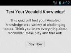 VocaQuiz 2.1 Screenshot