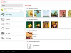 Vodafone Cloud 2.3.6 Screenshot