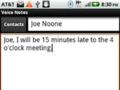 Voice Notes Trial 1.2 Screenshot