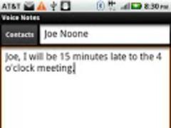 Voice Notes 1.2 Screenshot