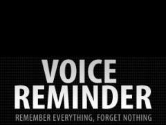 Voice Reminder. 1.0 Screenshot
