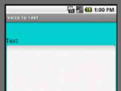 Voice To Text 1.0 Screenshot