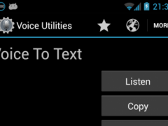 Voice Utilities 2.1 Screenshot