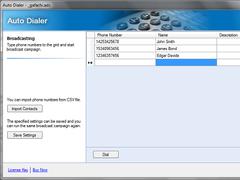 Voice2Phone Auto Dialer Pro 1 Lines 1.9.2.1 Screenshot