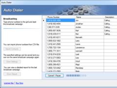 Voice2Phone Auto Dialer Pro 5 Lines 1.9.7.0 Screenshot