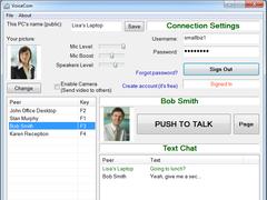 VoiceCom 2.0 Screenshot