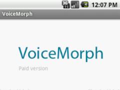 VoiceMorph - Ad free 1.0 Screenshot
