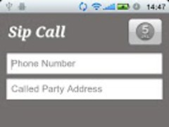 VoIP/SIP Call 1.2 Screenshot