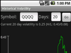Volatility Tools 1.2 Screenshot