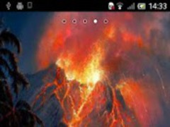 Volcano Live Wallpaper 2.3 Screenshot