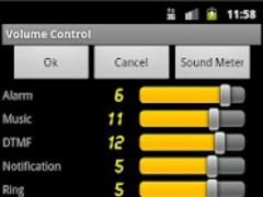 Volume Control & Sound Meter 1.1 Screenshot