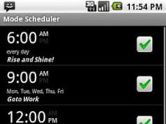 Volume / Mode Scheduler 1.8 Screenshot
