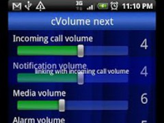 Volume setting[cVolume] next 3.0.0 Screenshot