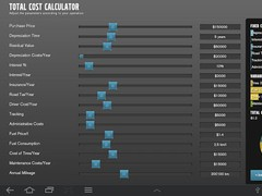 Volvo Trucks Total Cost Calcul 1.6.1 Screenshot