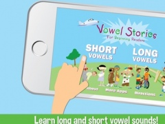 Vowel Stories for Beginning Readers: Learn to Read Long and Short Vowel Sounds 1.1 Screenshot