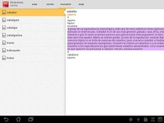 Vox Spanish Language Thesaurus 4.3.056 Screenshot
